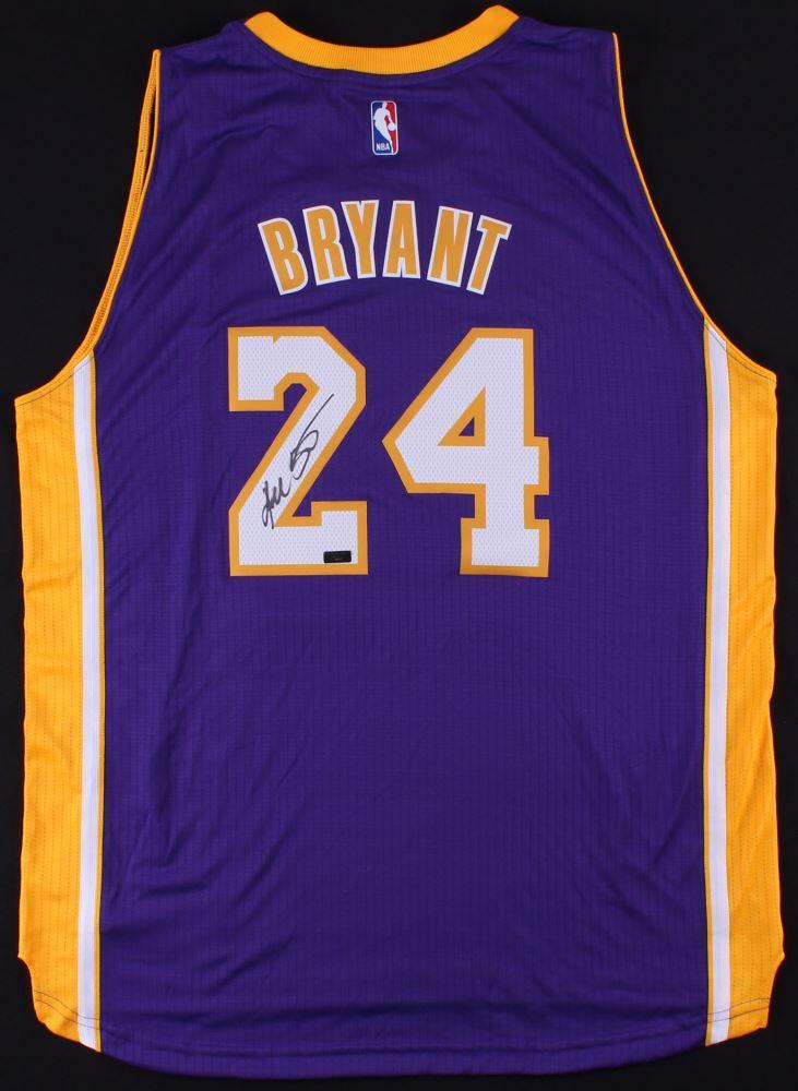 3095a38a213f Image 1   Kobe Bryant Signed Lakers Adidas Swingman Jersey (Panini COA)