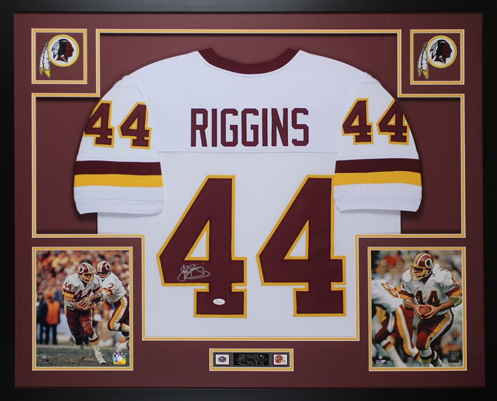finest selection 69250 284a3 John Riggins Signed Redskins 35x43 Custom Framed Jersey ...
