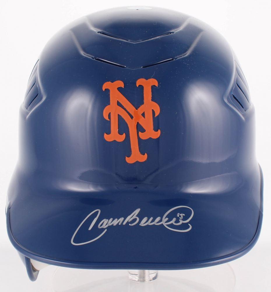 Carlos Beltran Signed Mets Full Size Batting Helmet