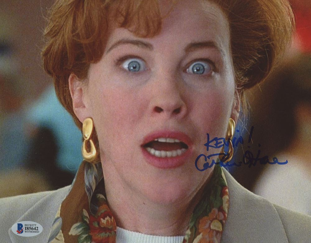 Catherine O Hara Signed Home Alone 2 Lost In New York City