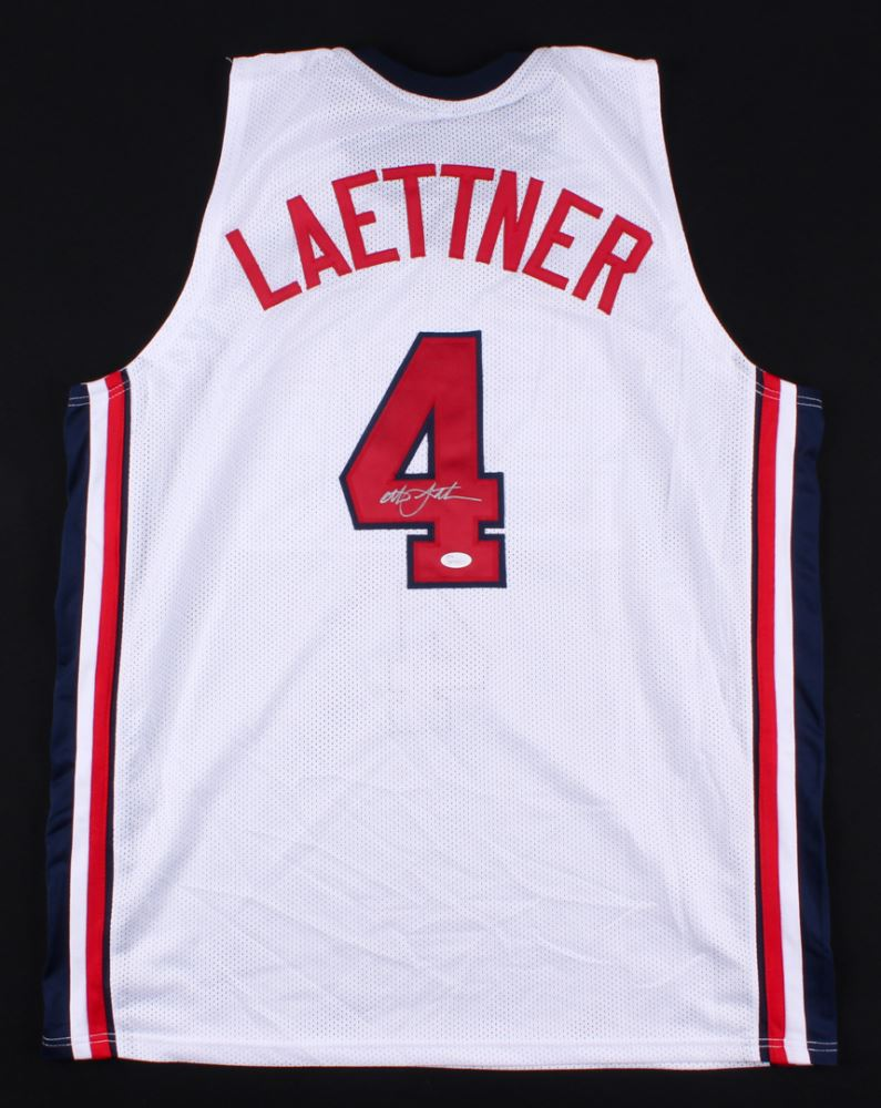 de5bb747208 Image 1   Christian Laettner Signed Team USA