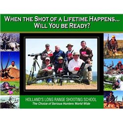 HOLLAND'S LONG RANGE SHOOTING SCHOOL