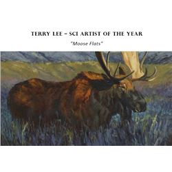 MOOSE FLATS LIMITED EDITION PRINT BY TERRY LEE