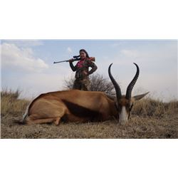 Ten-day South African (Limpopo) Custom Plains Game Hunt for Two Hunters