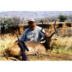 Seven-day Hunt for 2 Hunters in South Africa taking 2 Impala and 2 Blesbok