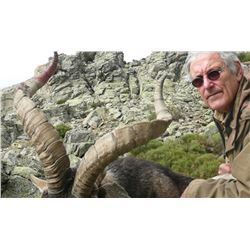 Five Day Spanish Ronda Ibex Hunt for One Hunter and One Observer