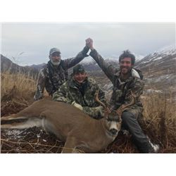 Kodiak Island Sitka Blacktail Deer For 1 Hunter - $5,500 / Exhibitor