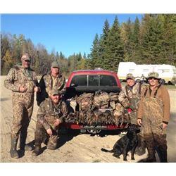 Duck & Grouse Combo Hunt for 1 Hunter - $2,000