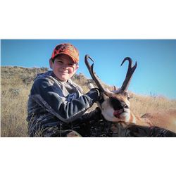 Wyoming Youth Antelope - $2,750 / Exhibitor