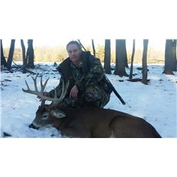 Wisconsin Whitetail Management Hunt for 1 Hunter & 1 Observer - $3,000 / Exhibitor