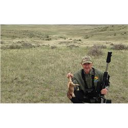 Wyoming Prairie Dog Hunt for 2 Hunters - $1,020 / Exhibitor