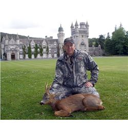 Scotland Roebuck Hunt on Prestigious and Exclusive Estates for Two Bucks with Airfare - Over