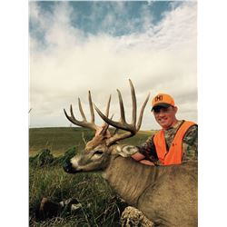 Kansas Archery or Rifle Whitetail for 1 Hunter - $5,000