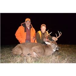 5 DAY KANSAS WHITETAIL HUNT WITH CRAIG BODDINGTON FOR 1 HUNTER - $4,500