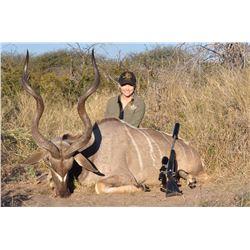 Namibia: 9 Day Plains Game Safari for 2 Hunters / 2 Kudu & 1 Day Tiger Fishing or Etosha Park