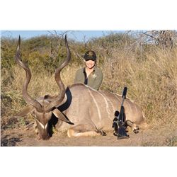 Namibia: 9 Day Plains Game Safari for 2 Hunters / 2 Kudu & 1 Day Tiger Fishing or Etosha Park