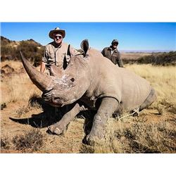 South Africa: 7 Day All Inclusive Rhino Vita Dart Hunt for One Hunter & 1 One Observer