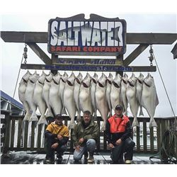 Seward, Alaska: August 7th National Purple Heart Day Memorial Fishing Trip for 6 Fishermen