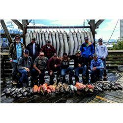 Alaska: 1 Day Saltwater Fishing Charter for 12 Anglers out of Seward, Alaska