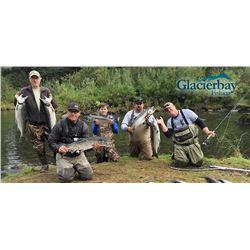 Alaska: 5 Day Fishing Trip for One Angler at Glacier Bay Eagle Nest Lodge