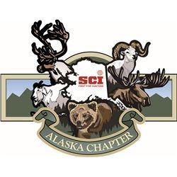 Safari Club International and SCI Alaska Chapters Life Membership Package
