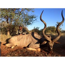 South Africa: 7 Day Plains Game Hunt for 2 Hunters / Includes 2 Trophy Kudu and Unlimited Bird Hunti