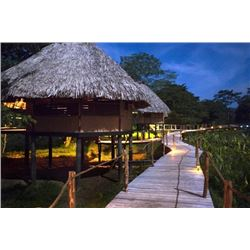Belize: 8 Day 7 Night Fishing and Jungle Retreat for Two People