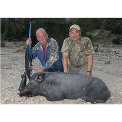 Texas: 2 Day Trophy Sika Stag and Wild Boar Hunt for 1 Hunter & 1 Observer
