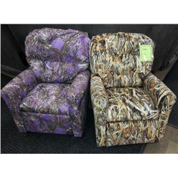 Two Children's Recliners