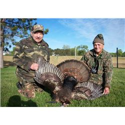 5 Day Spring Turkey Hunt for One Hunter – Private Land