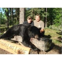 6 Day Bear Hunt for One at our drive in camp