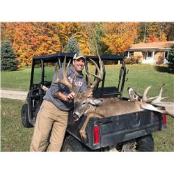 "2 Day Whitetail Buck Hunt for One Hunter up to 170 inch; ($75 per inch over 170"")"