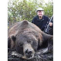 10 Day Spring Alaska Brown Bear Hunt for One Hunter