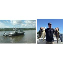 6 Hour Walleye Fishing Charter for 4 people on Saginaw Bay