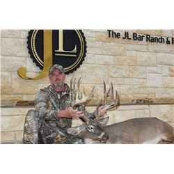 """4 Day/3 Night Trophy Whitetail Deer 170 - 179"""" for One Hunter"""
