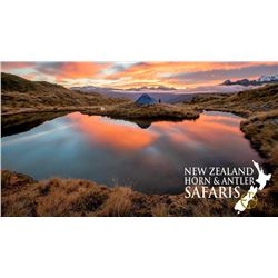 10-day New Zealand Big Game Safari for Three Hunters.