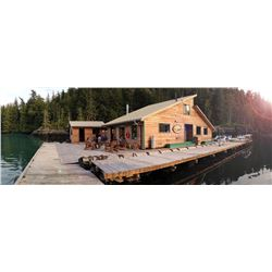 4-Day, 3-Night, British Columbia Coastal Fishing Trip for 2 with Coastal Springs Float Lodge