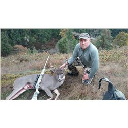 Columbia Blacktail Deer Hunt for 2 in Oregon with Hell's Half Acre Outfitters