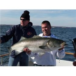 2 Day Striper (Rockfish) Trip with Rock Hall Fishing Charters for 6