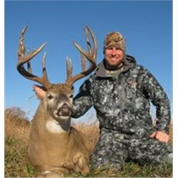 Iowa Whitetail Hunt for One Hunter