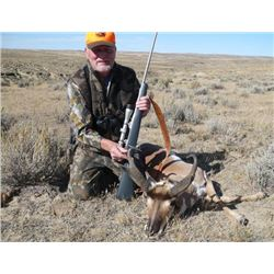 Wyoming Pronghorn Antelope Hunt for 2