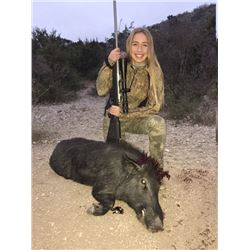 2-Day Hog Hunt in Texas with Trash Rack Ranch