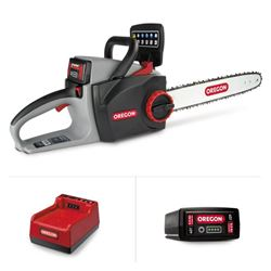 CS300 Chainsaw with 6.0 Ah Battery and C750 Rapid Charger from Pipersville Garden Center