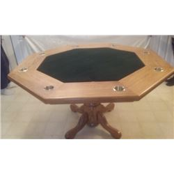 Poker Table made by Terry Hill