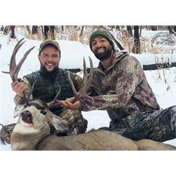 Montana Wilderness Lodge & Outfitters Mule Deer Hunt