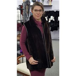 LA 5 - CUSTOM FUR/LEATHER REVERSIBLE VEST