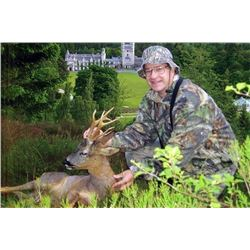 LA 15 - SPRING ROE DEER HUNT FOR 1 HUNTER ON THE SCOTTISH ROYAL FAMILY'S BALMORAL ESTATE