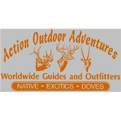 LA 35 – ACTION OUTDOORS ADVENTURES $2500 CREDIT TO TOTAL FEE