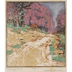 Gustave Baumann woodblock