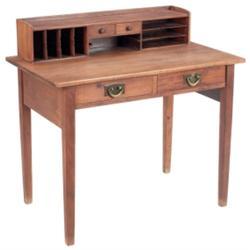Gustav Stickley desk, #720, in mahogany